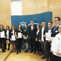 III i IV miejsce uczniów z regionu łódzkiego podczas Ogólnopolskiego Konkursu Wiedzy o Podatkach